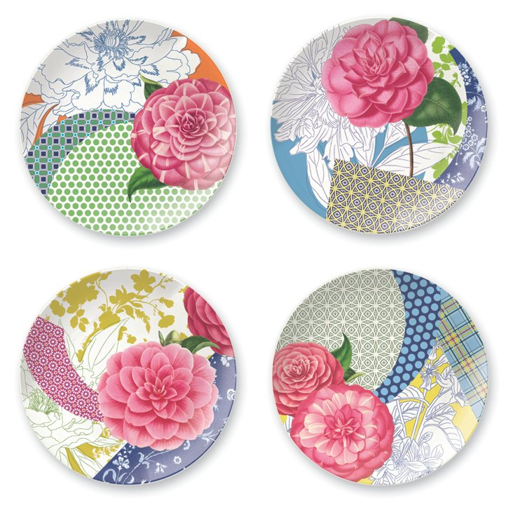 S/4 Bohemia Dessert Plates