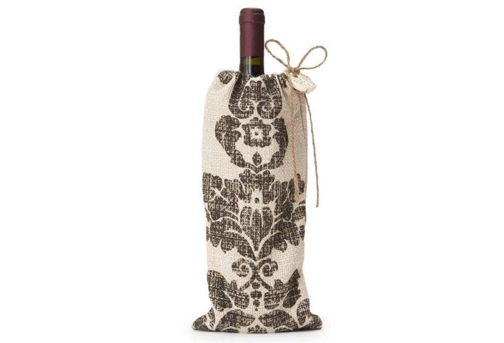 Fairlaine Wine Bag, Brown