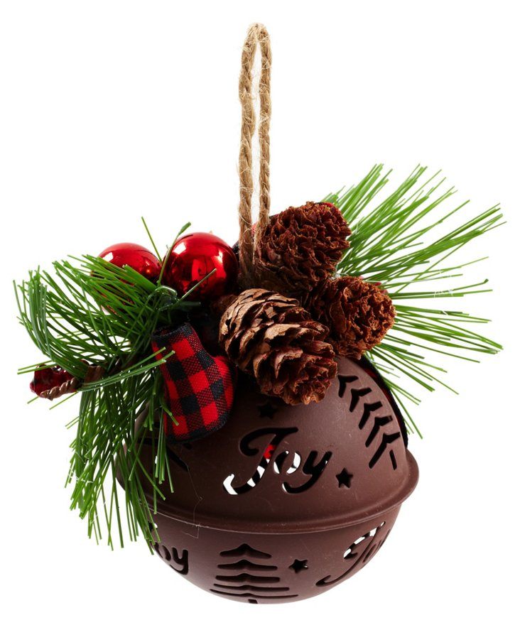 Noel Ball Ornament