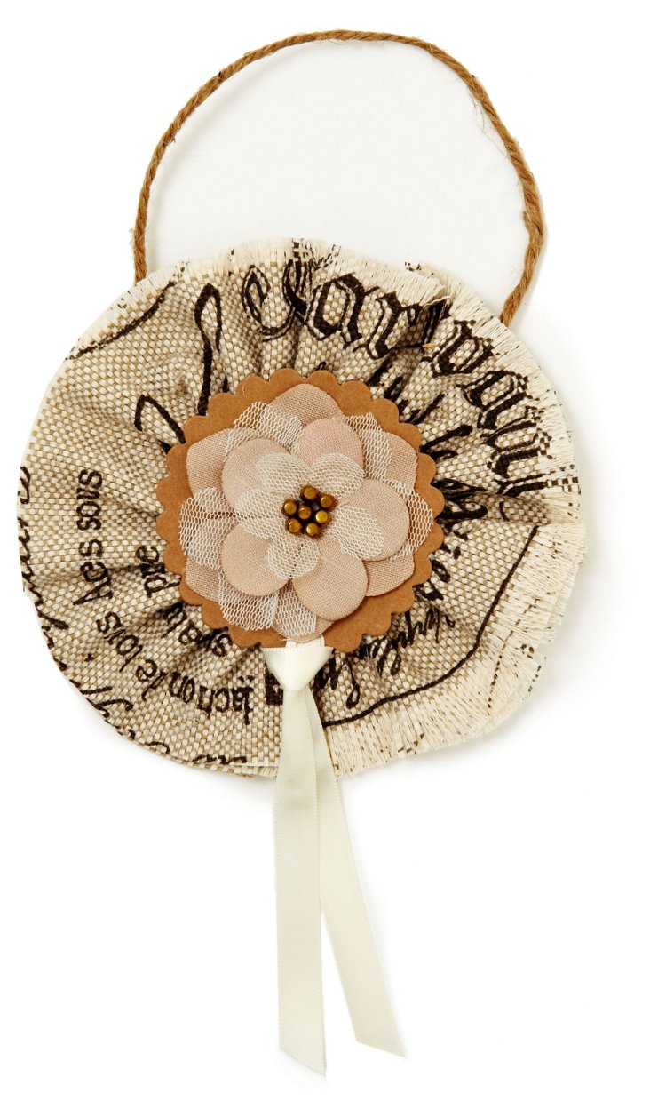 French Rosette Ornament