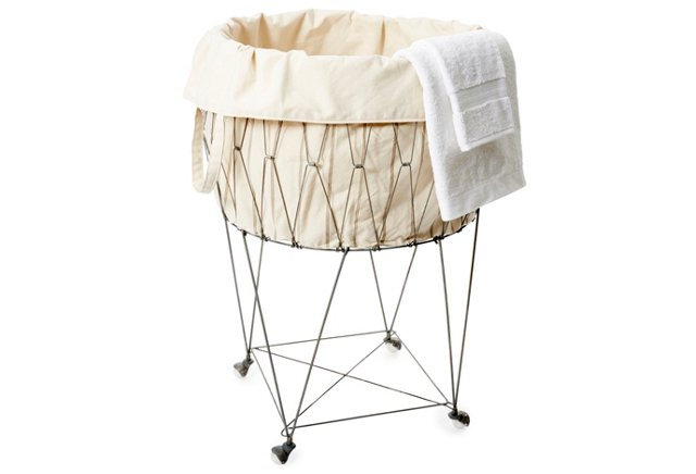 Wire Basket w/ Removable Tote