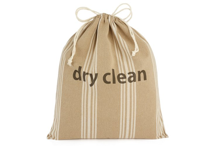 """Dry Clean"" Drawstring Bag, Maxine"