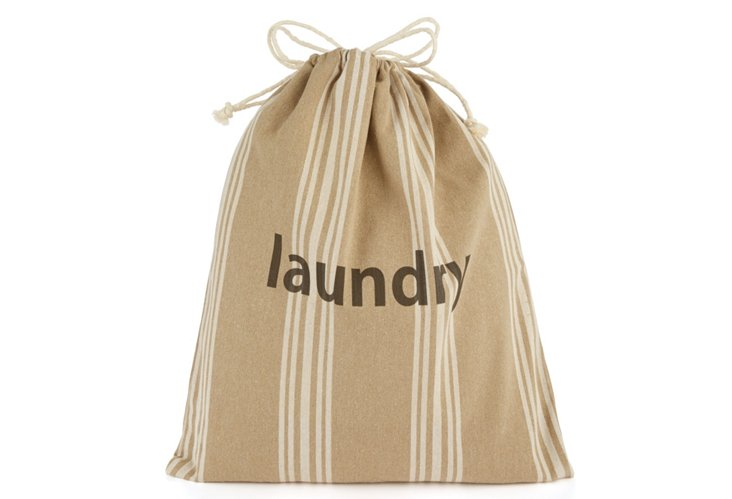 """Laundry"" Drawstring Bag, XL Maxine"