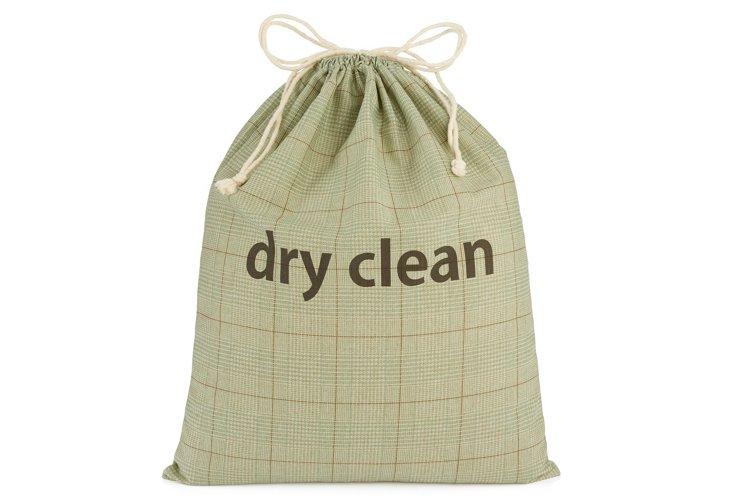 "XL Spa Tweed Drawstring ""Dry Clean"" Bag"