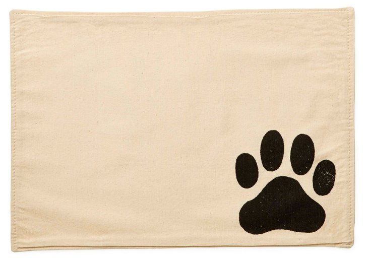 S/4 Big Paw Placemats