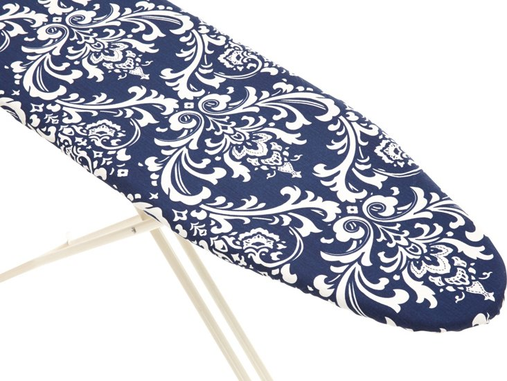 Ironing Board Cover, Navy Damask