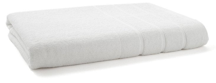 Lanes Bath Sheet, White