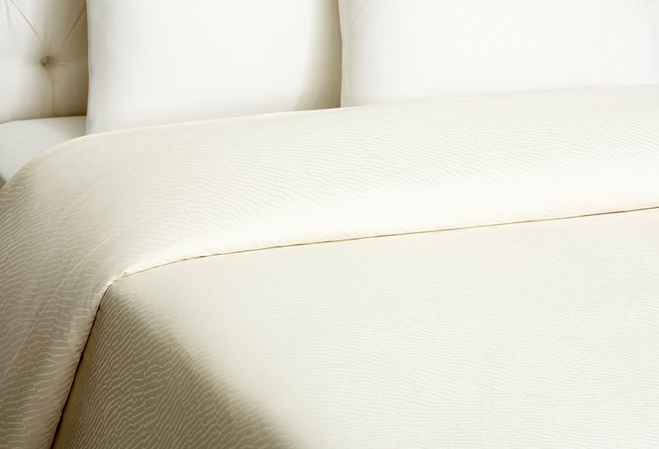 Tiberio Duvet Cover,  Gypsophila