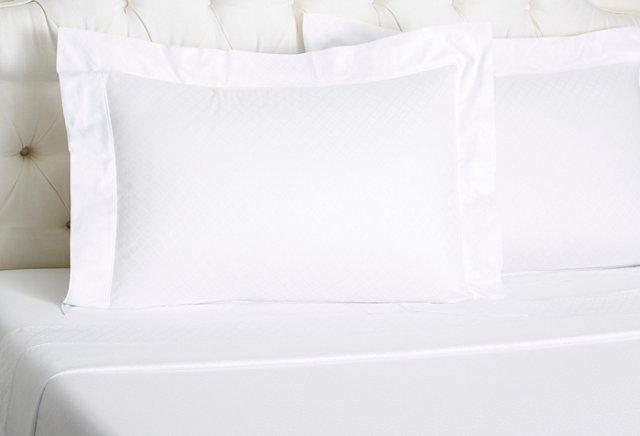 Seventies Alec Bed Set,  White
