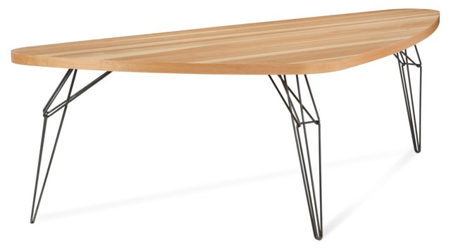 LEM Triangle Dining Table, Natural