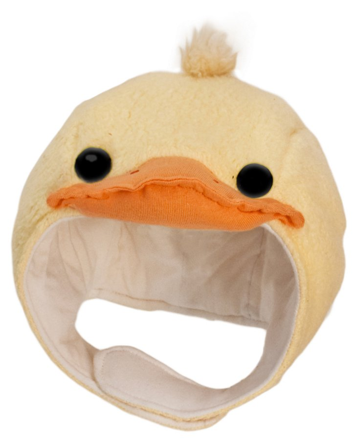 Small Ducky Picnic Pal Beanie, Yellow