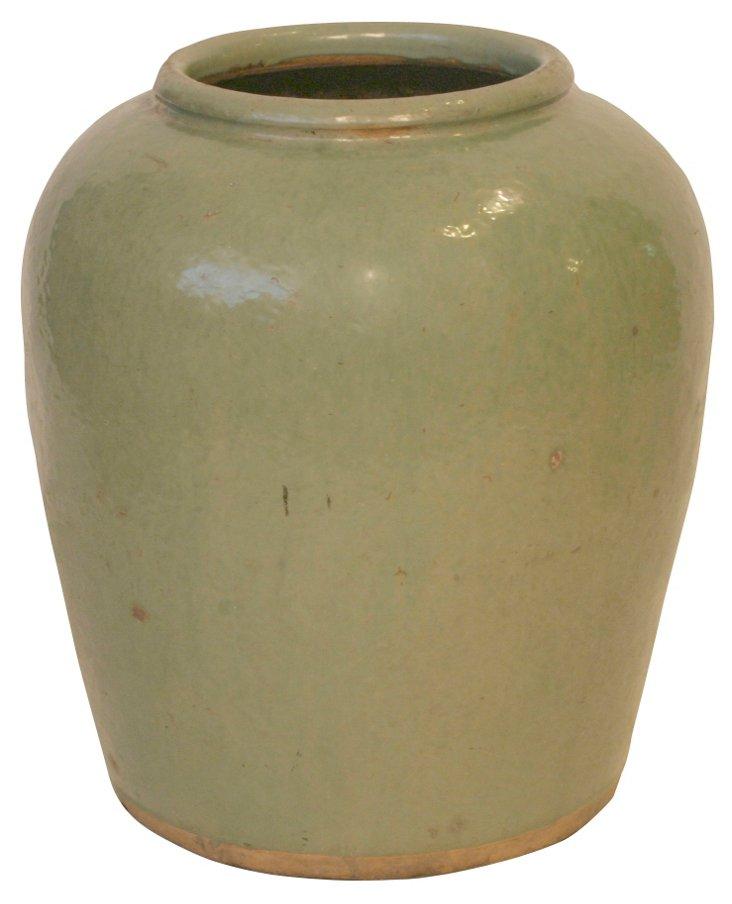 Celadon Water Jar