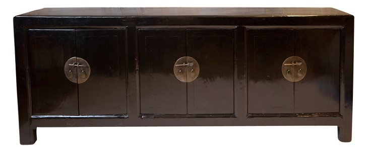 Triple Shanxi Sideboard, Black