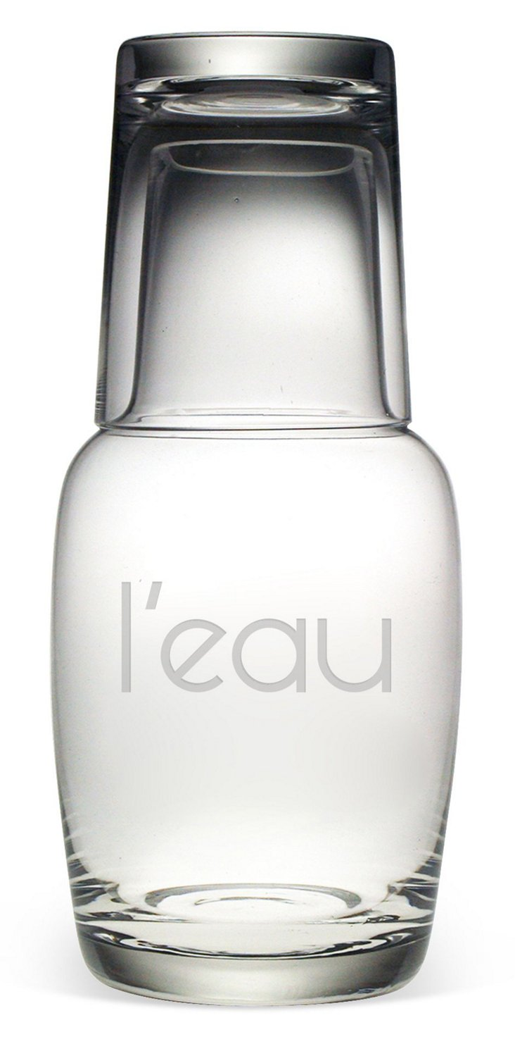 L'eau Night Bottle Set, 32oz