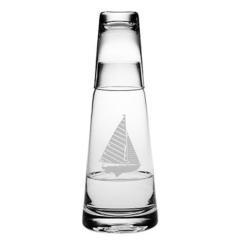 Sailboat Cone Night Bottle Set