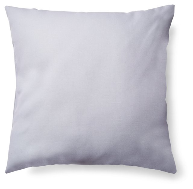 Solid 20x20 Outdoor Pillow, Gray