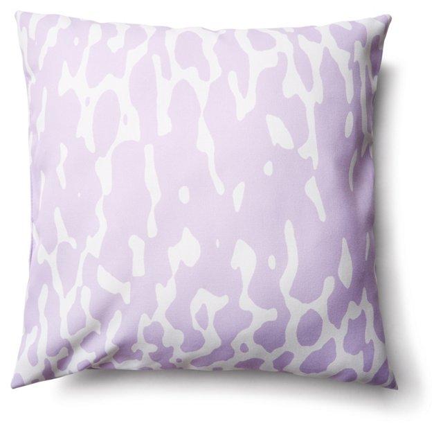 Animal 20x20 Outdoor Pillow, Purple