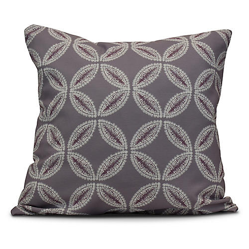 Tidepool Outdoor Pillow, Lavender