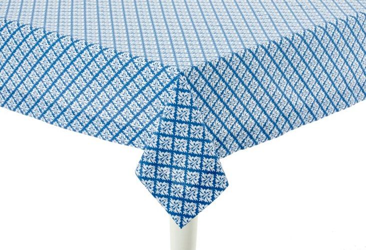 China Blue Tablecloth