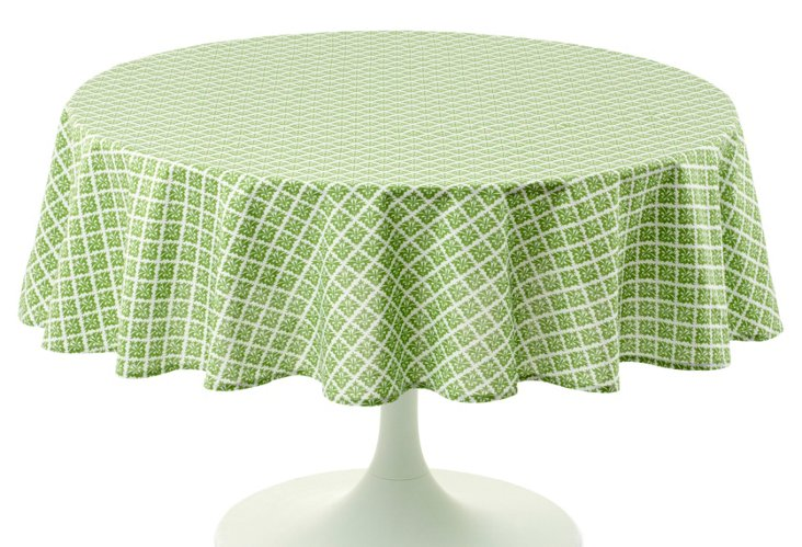 Round Basil Tablecloth, 70""