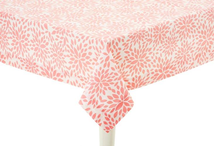 "Tablecloth, 70"" x 108"" Dahlia Pink"