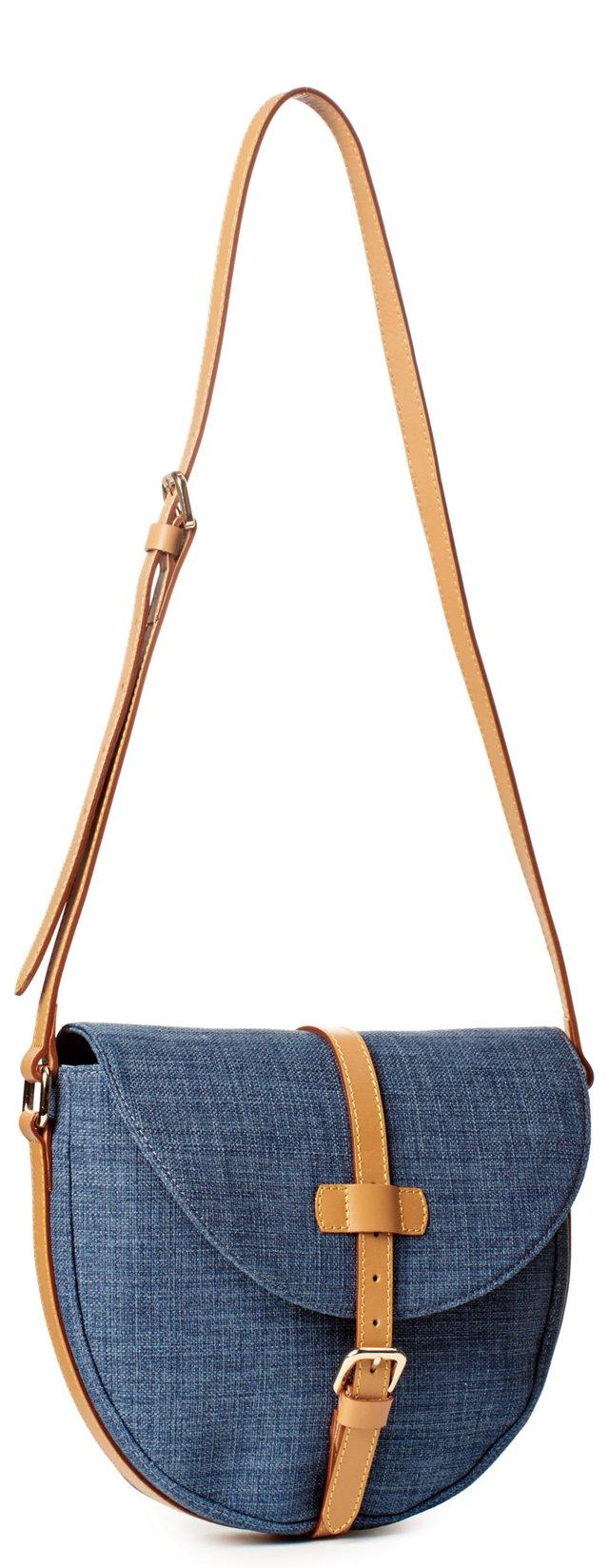 Messenger Bag, Blue
