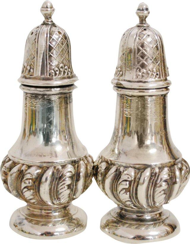 Silverplate Salt & Pepper Set