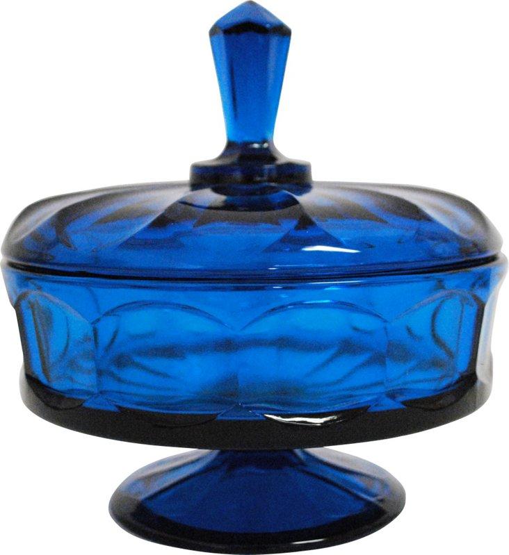 Glass Pedestal Candy Dish