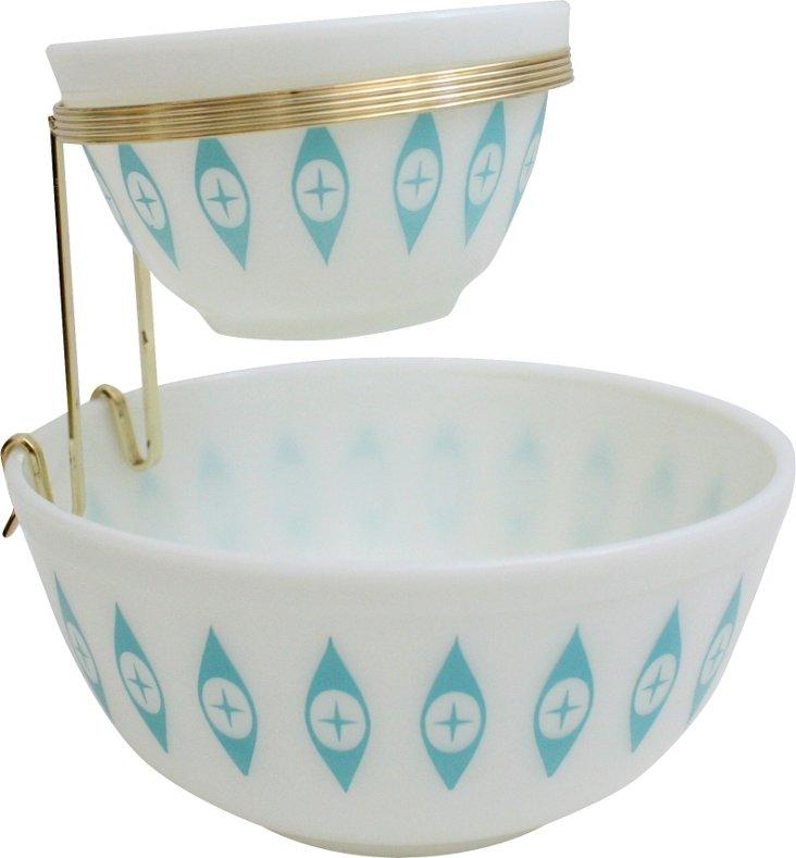 Pyrex Bowls, 3 Pcs