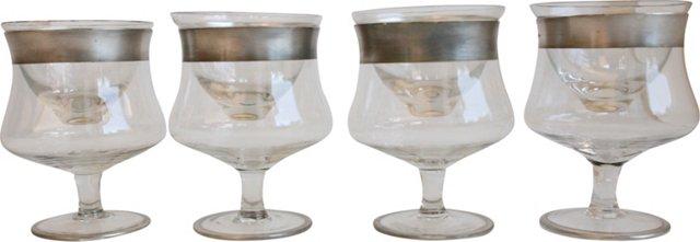 Shrimp Cocktail Glasses, Set of 4