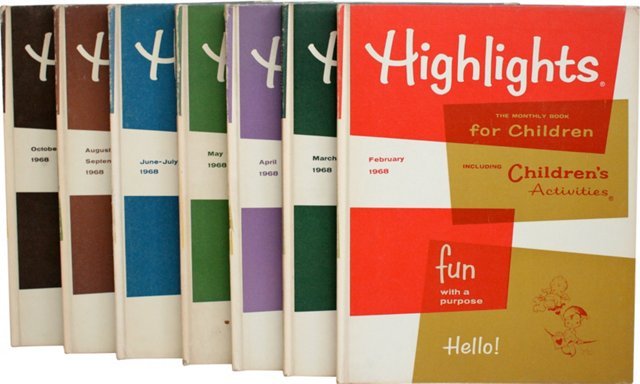 Highlights, 1968, Set of 7