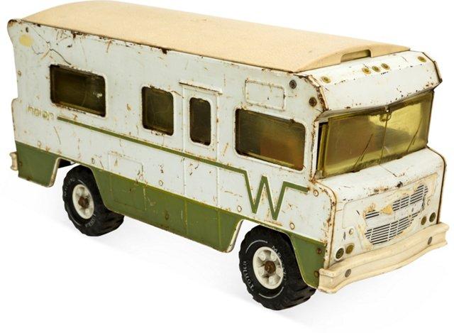 Large Vintage Toy Camper
