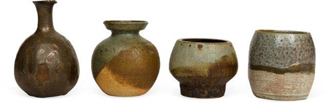 Midcentury Ceramics, Set of 4