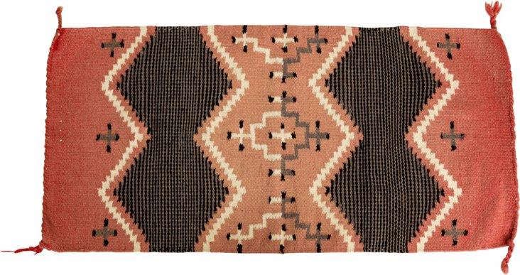 Navajo Hand-Spun Wool Blanket