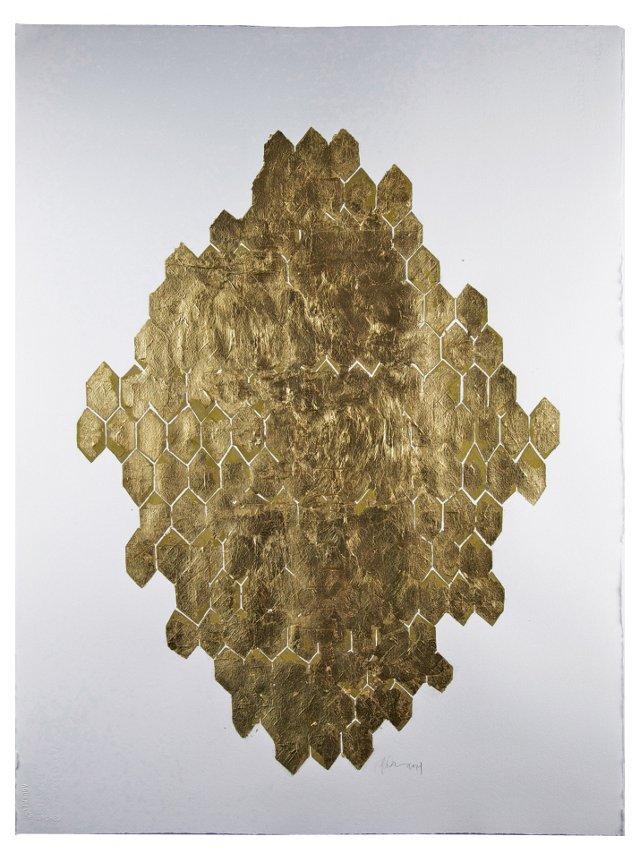 Kate Roebuck, Gold Leaf Honeycomb