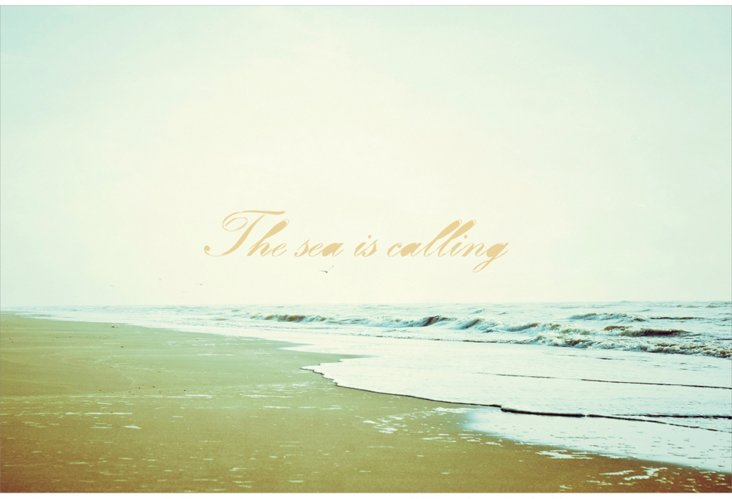 The Sea is Calling, Print