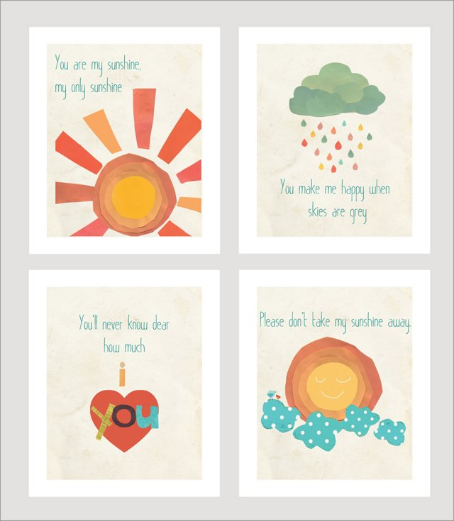 You Are My Sunshine Collection
