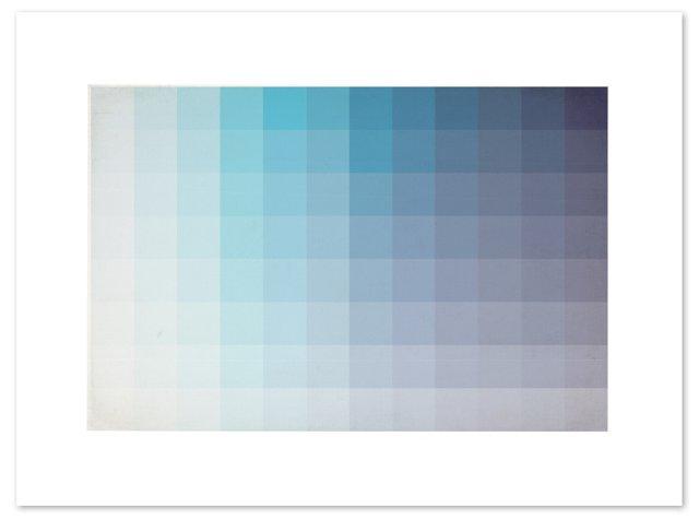 Blue Spectrum Print