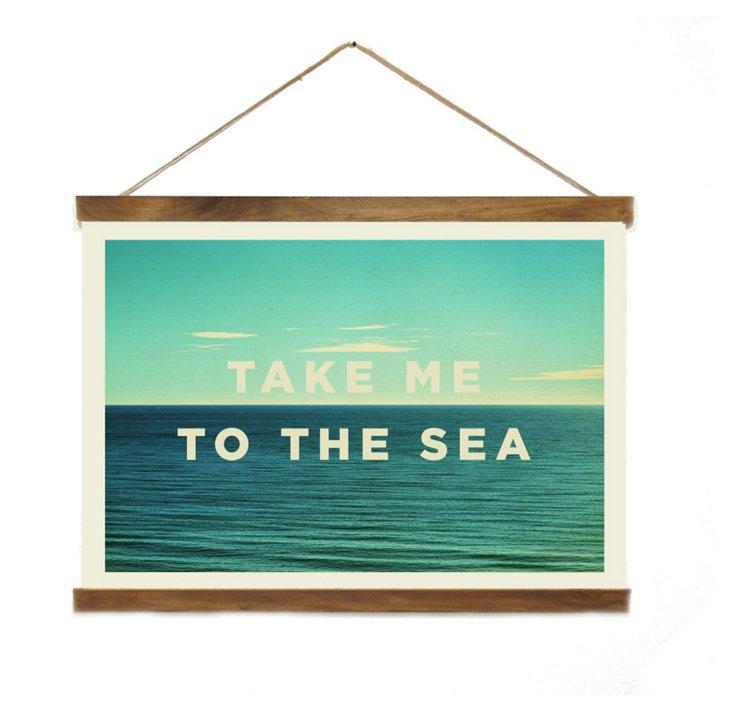 Take Me to the Sea Canvas