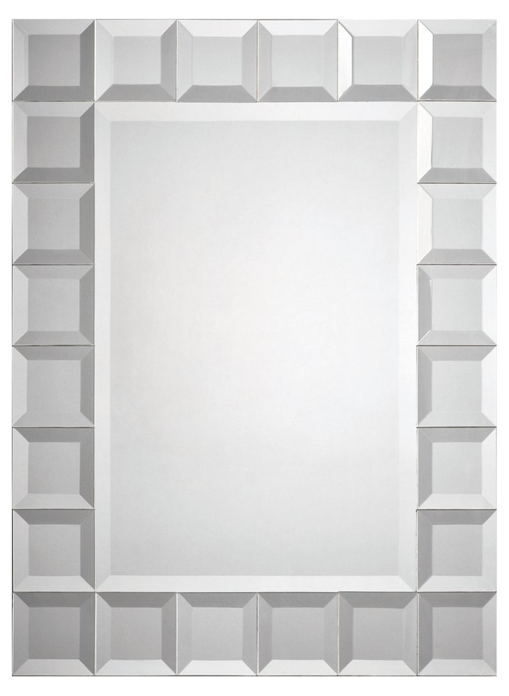 Oslow Accent Mirror, Clear