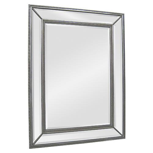 "Lance 51""x40"" Oversize Mirror, Silver"