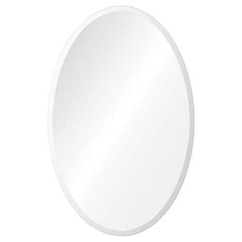 "Frances 18""x28"" Wall Mirror, Glass"