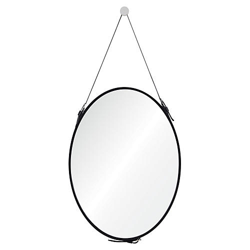 Cordova Wall Mirror, Black
