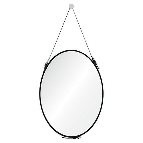 Cordova Wall Mirror, Black
