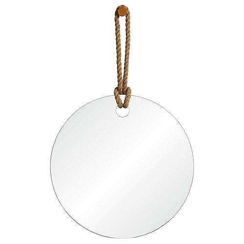 Pelmet Oversize Wall Mirror, Natural
