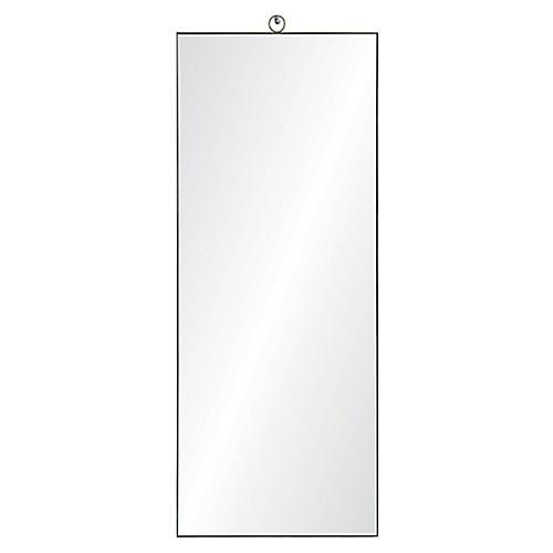 Filbert Floor Mirror, Silver