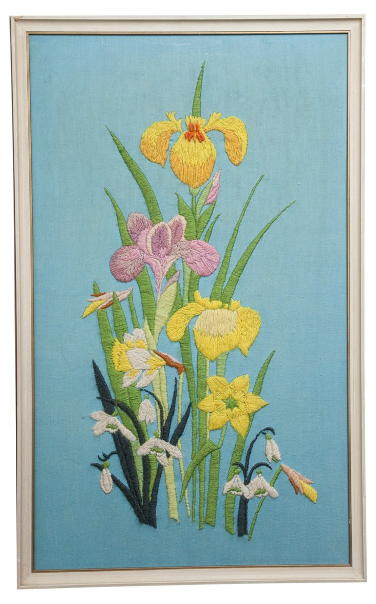Bouquet Embroidery Art