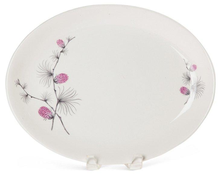 Pink Pinecone Platter