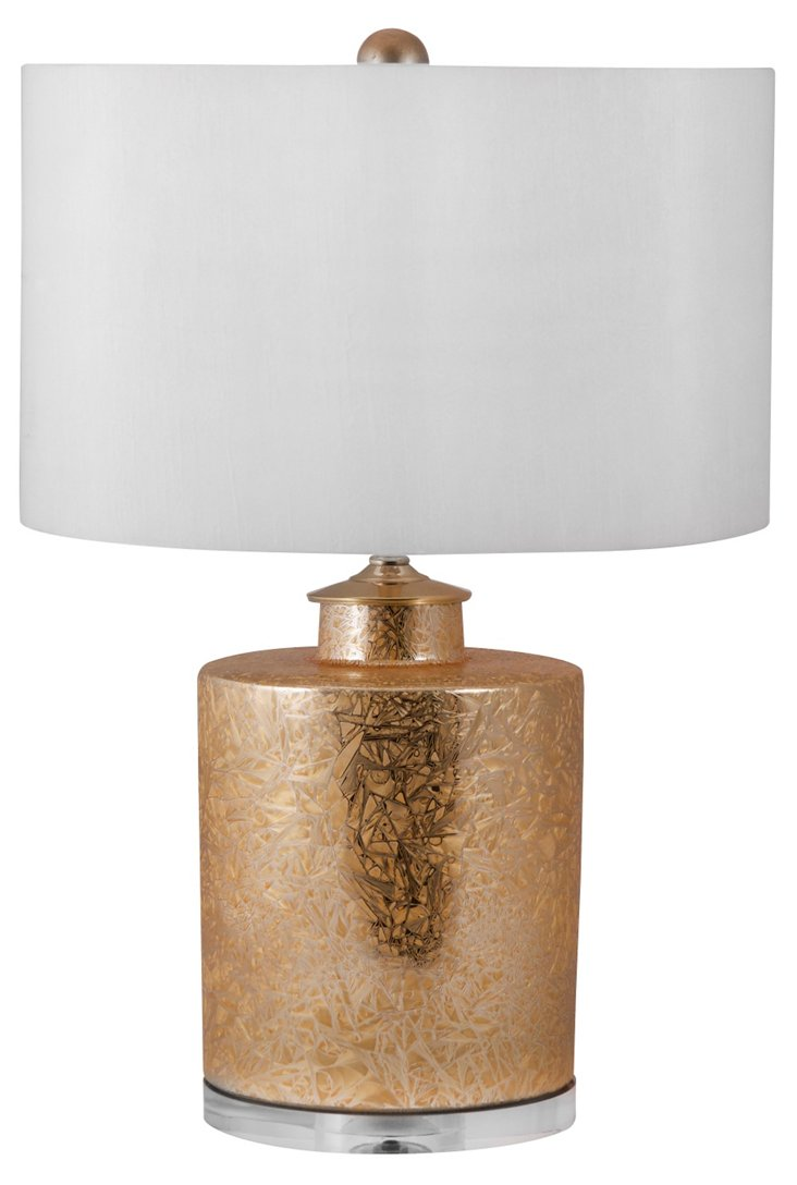 Roland Table Lamp, Gold