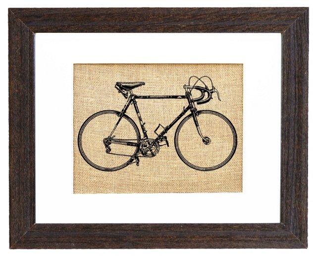 Vintage 1940s Racing Bicycle